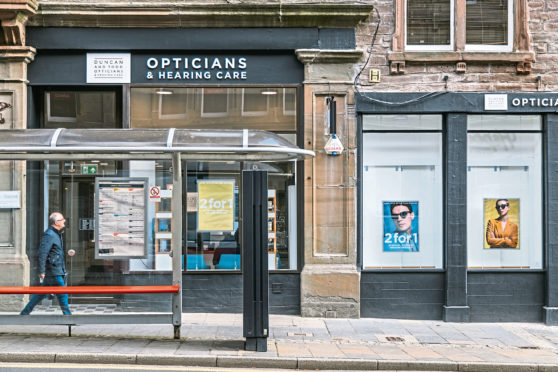 Profits in sharp focus for opticians group - The Courier