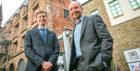 Fraser Morrison, partner and Keith Dunlop, partner at the new office of Ennova Law. Picture: Kris Miller.