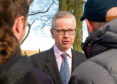 Michael Gove said no other party is making such promises on spending.