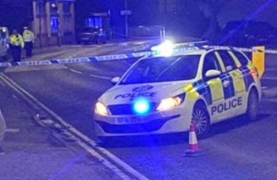Police and ambulance crews were called to an incident outside the Tesco Express in Station Road, Cardenden, close to the junction with Gammie Place.