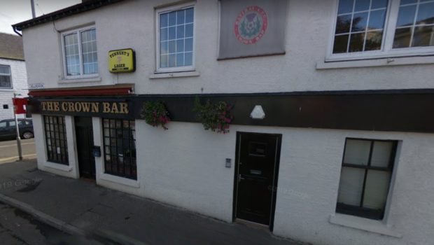 The Crown Bar, Blairgowrie.