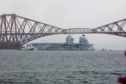 HMS Prince of Wales sailed from the Forth nine weeks ago.
