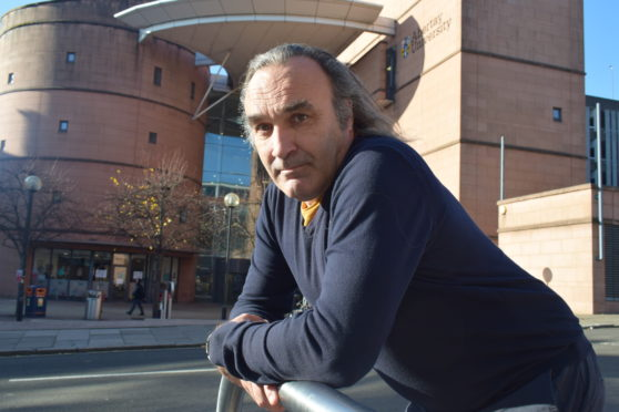 Dr Andrew Samuel, course leader and researcher.