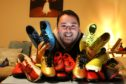 Liam Neish, a pupil support worker, has set up the Boots For All scheme.