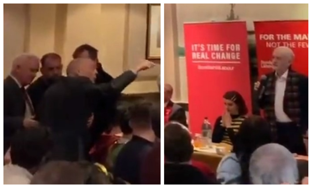 VIDEO: Watch heckler shouting 'will of Scottish people' get thrown out of Jeremy Corbyn rally in Dundee - The Courier