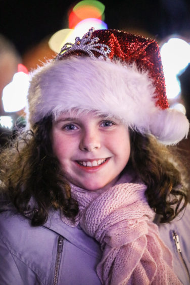 Rose Keddie (9) from Broughty Ferry.