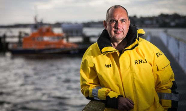 Murray Brown, coxswain at Broughty Ferry lifeboat.