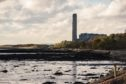 Longannet Power Station, now de commissioned, in Kincardine, Fife.