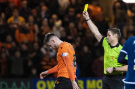 Dundee's Shaun Byrne admits it was 'gutting' to hear rivals celebrating derby victory