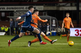 Dundee 0 Dundee United 2: Super striker Lawrence Shankland takes Dens by storm to deliver derby glory