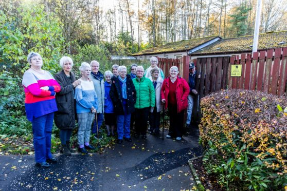 Pensioners in the sheltered housing complex say life in the street will be ruined.