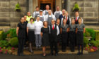 The team from Garvock House Hotel.