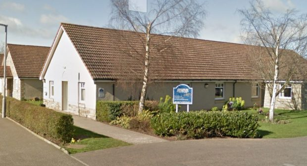 Tayside View care home in Newburgh.