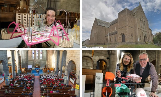 Visions for 'incomplete' Dundee church displayed...more than 100 years on from its construction - The Courier