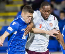 St Johnstone defender Wallace Duffy has gone on a steep learning curve