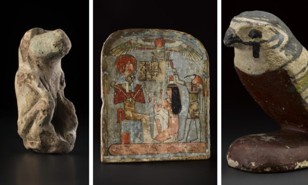 Some of the artefacts going on display at Perth              Museum.