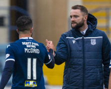 Dundee award double for Declan McDaid and James McPake