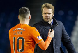 Dundee United have 'proved a point', says Nicky Clark