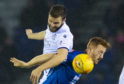 Jamie Ness in action at Inverness.