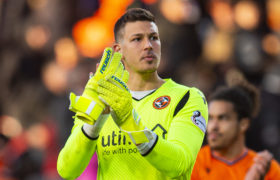 Benjamin Siegrist still hungry for shut-outs after falling short of Dundee United club record