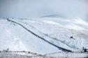 The White Lady ski area on the Cairngorm mountain.