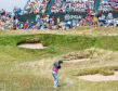 Rory McIlroy in a bunker at Whistling Straits in 2015. Both players and venue will feature prominently in 2020.