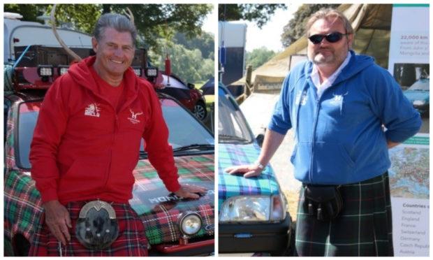 Gordon Blair and Brian Meldrum.
