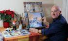 John completes painting of Arthurs Plot