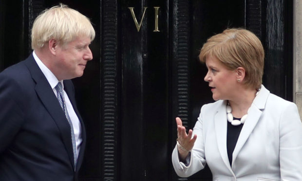 Our exclusive poll suggests an election boost for Boris Johnson's Brexit plans – and for Nicola Sturgeon's independence hopes.