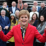 Nicola Sturgeon joins new SNP MPs to celebrate election win at V&A Dundee