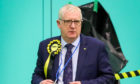 Douglas Chapman at the Fife election count in Glenrothes.