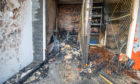 Items belonging to residents were destroyed in the fire.