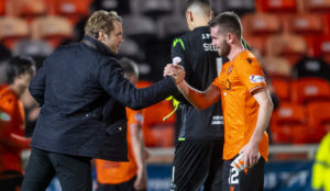 Dundee United's Sam Stanton insists there is still plenty of hard work ahead of Championship leaders