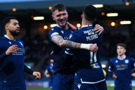 Dundee hold on for 4-3 win against Dunfermline