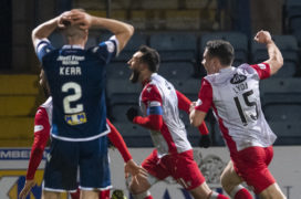 Dundee boos helped Queen of the South win, says Stephen Dobbie