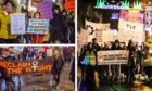 Reclaim the Night in Perth and Dundee.