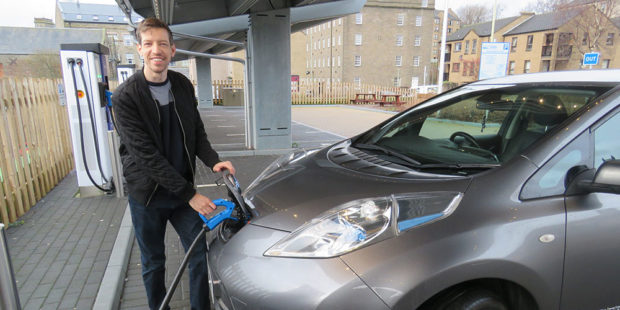 SPONSORED: Why Dundee - and the council leader - is leading the way in EVs - The Courier
