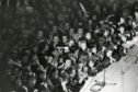 Fans at the Caird Hall to the see The Clash.