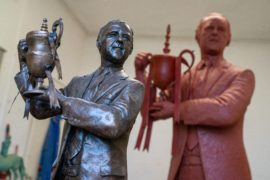 First look at full-size statue of Dundee United legend Jim McLean