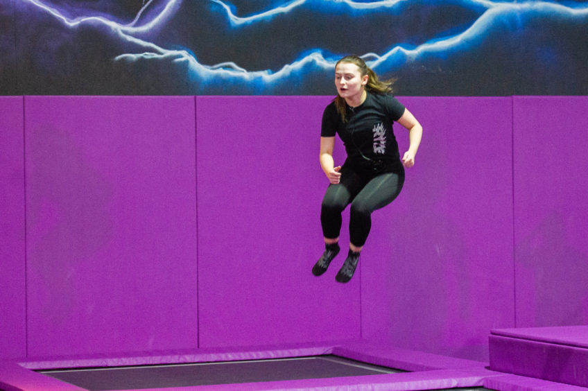 VIDEO: Bounce yourself fit at trampoline workout sessions in Dundee - The Courier