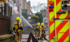 The fire at China China on Clepington Road, Dundee.
