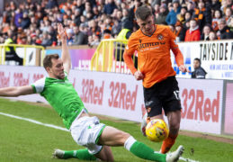 """Tie of the round"" lives up to its billing as Dundee United v Hibs ends in 2-2 draw"