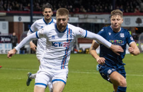 St Johnstone join Dundee in race for ICT right-back Shaun Rooney