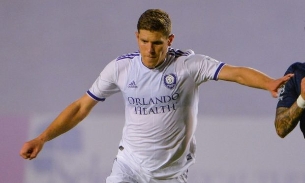 Dillon Powers in action for Orlando City.