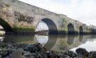 Gare Bridge at Guardbridge is 600 years old