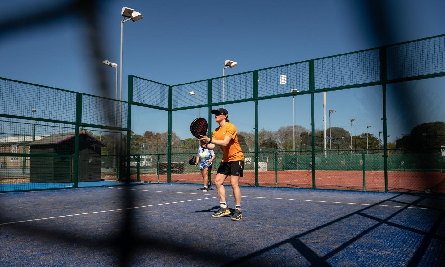 Padel tennis: Perthshire firm cashing in on unusual sport Lionel Messi  plays at home