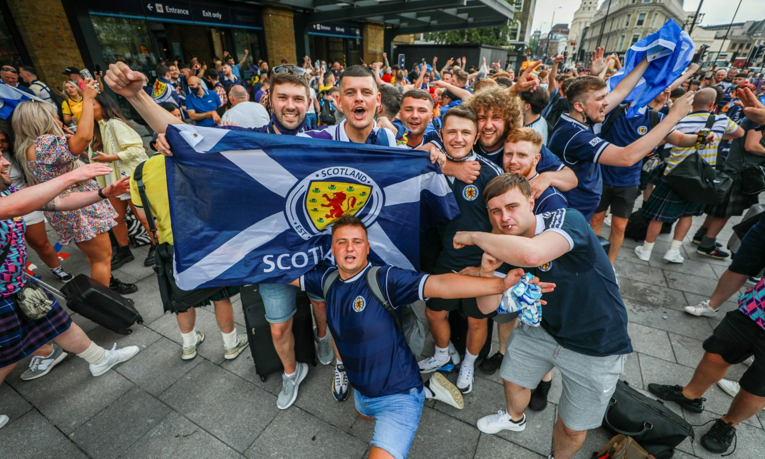 Scotland fans watching Euro 2020 'causing Covid spike in Tayside'